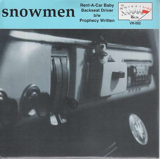 Snowmen - Rent A Car Baby / Backseat Driver
