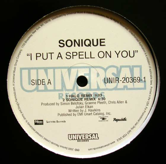 Sonique - I Put A Spell On You