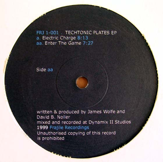 James Wolfe - Techtonic Plates