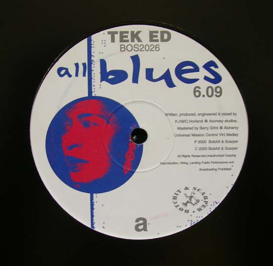 Tek Ed - All Blues / Papa