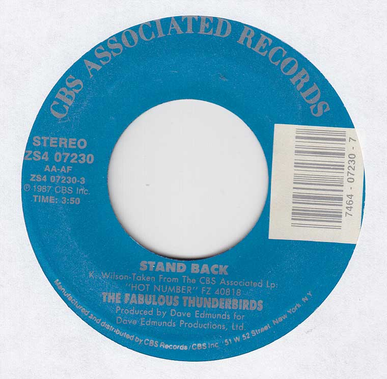 The Fabulous Thunderbirds - Stand Back