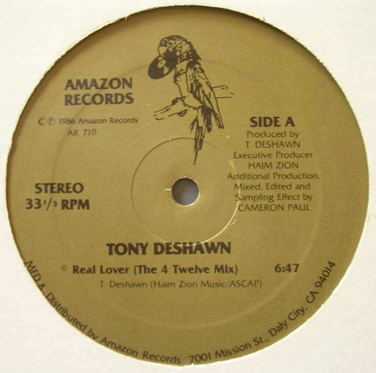 Tony Deshawn - Real Lover