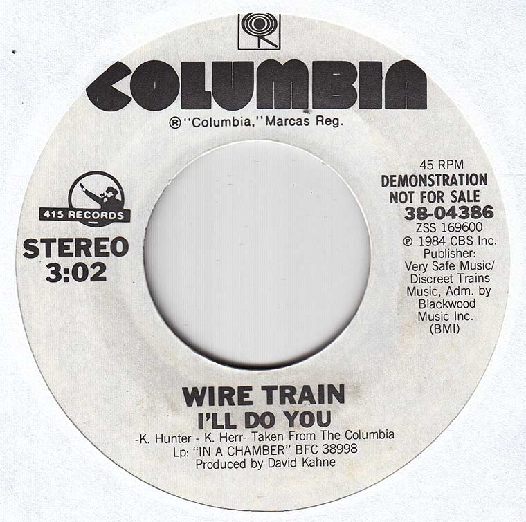 Wire Train - I'll Do You