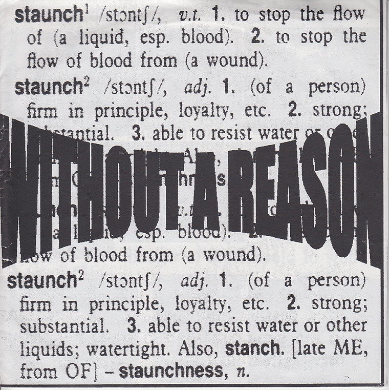 Without A Reason - Staunch