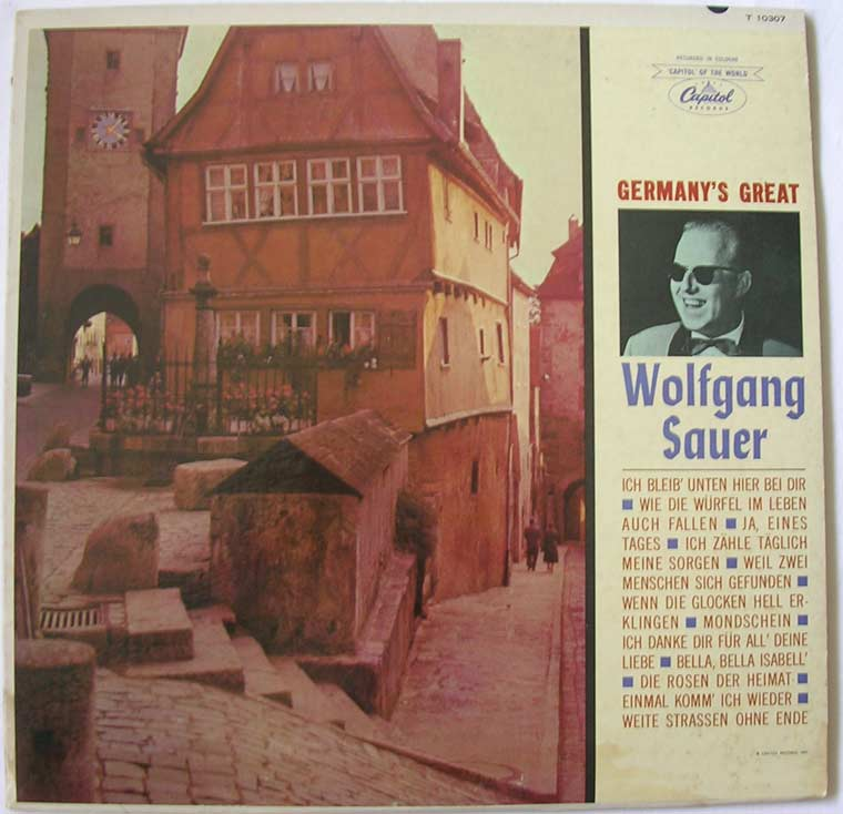 Wolfgang Sauer - Germany's Great Wolfgang Sauer