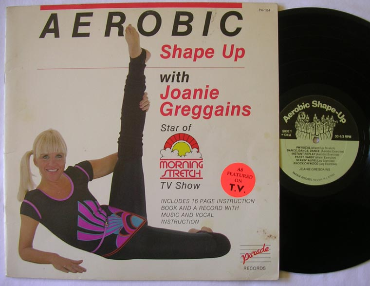 Joanie Greggains Aerobic Shape Up By Parade Records