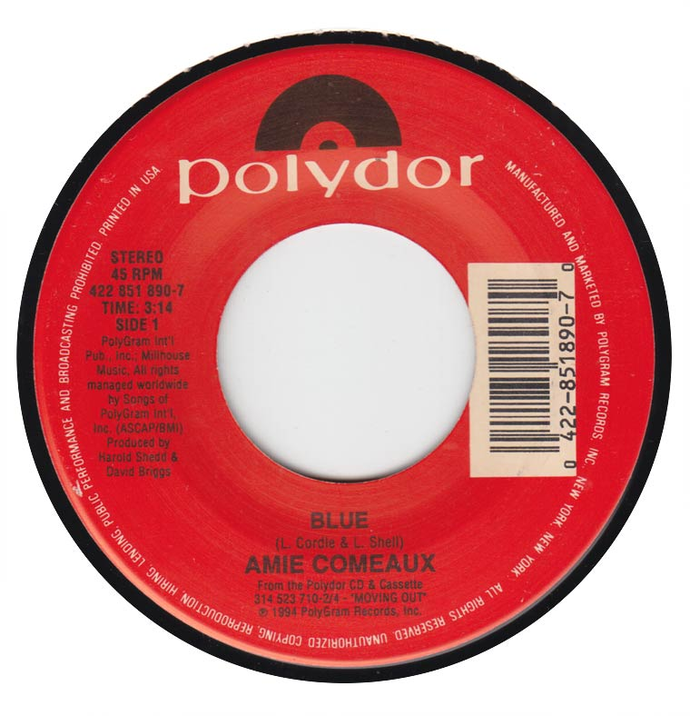 Amie Comeaux - Blue / One Step Ahead of You