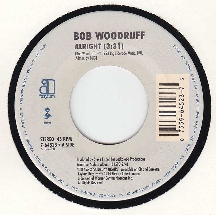 Bob Woodruff - Alright / Caroline