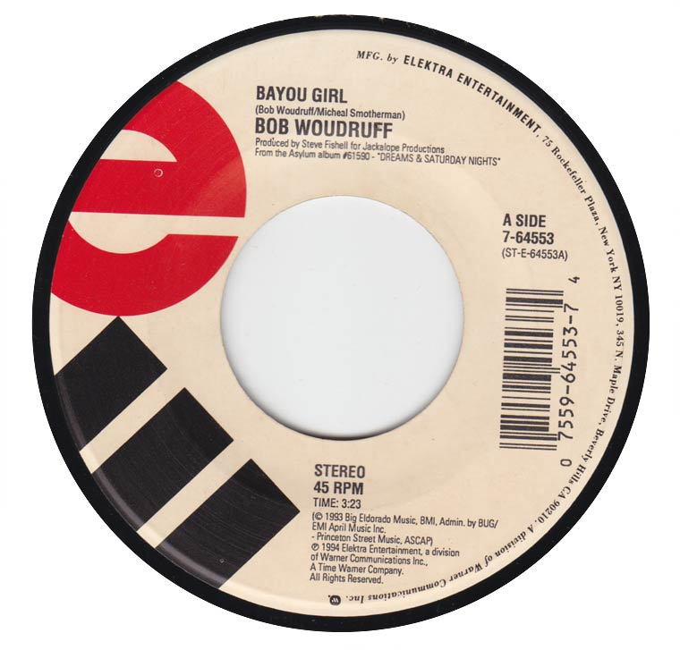 Bob Woodruff - Bayou Girl / Poisoned at the Well