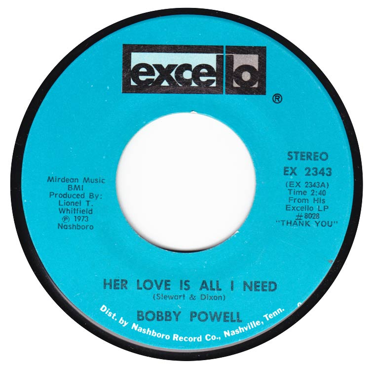Bobby Powell - Her Love Is All I Need