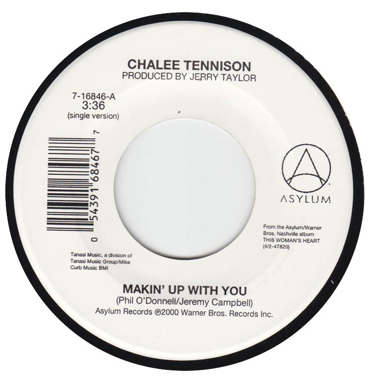 Chalee Tennison - Makin Up With You / Yes I Was