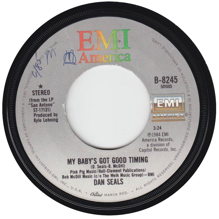 Dan Seals - My Baby's Got Good Timing