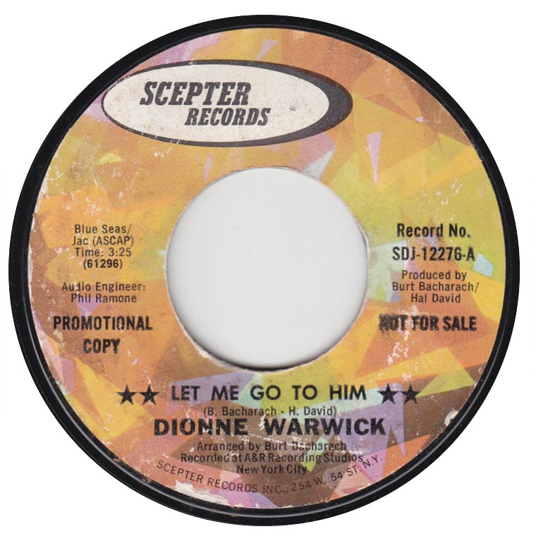 Dionne Warwick - Let Me Go To Him