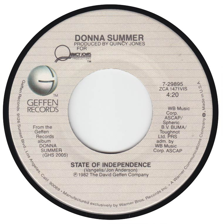 DONNA SUMMER DONNA SUMMER - UPSIDE DOWN LYRICS ...
