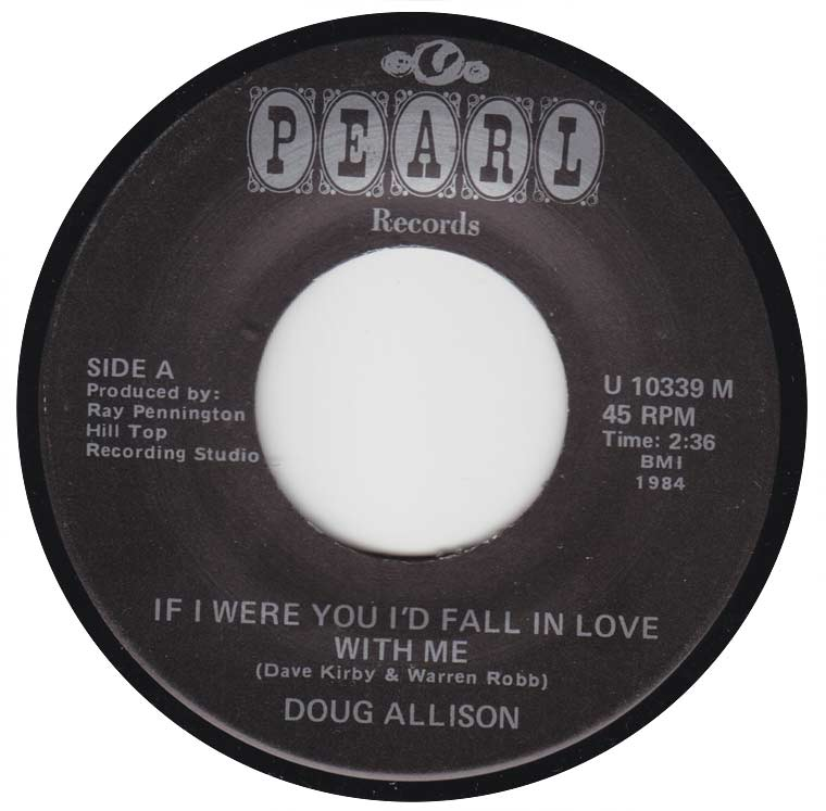 Doug Allison - If I Were You I'd Fall in Love With Me