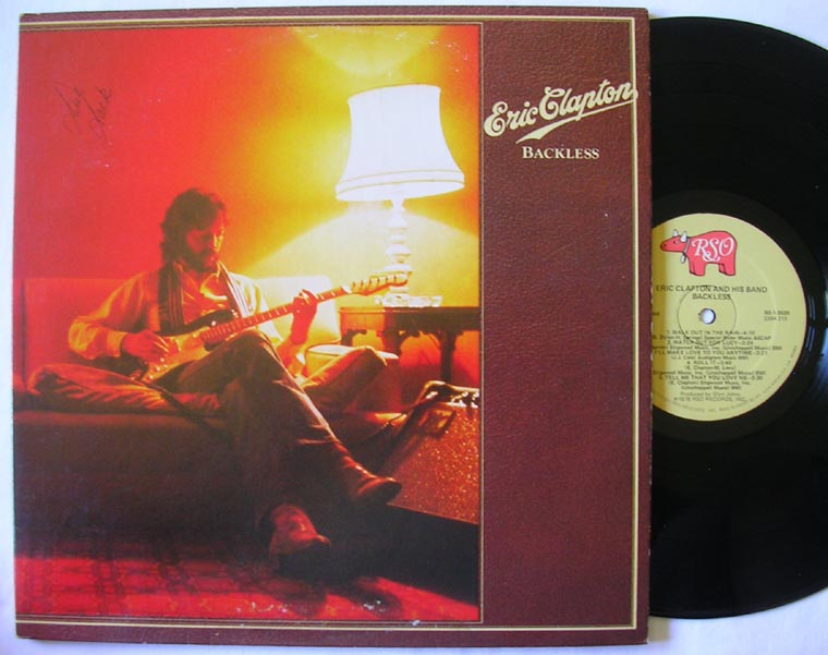Eric Clapton Backless By Rso Vinyl45lp Com