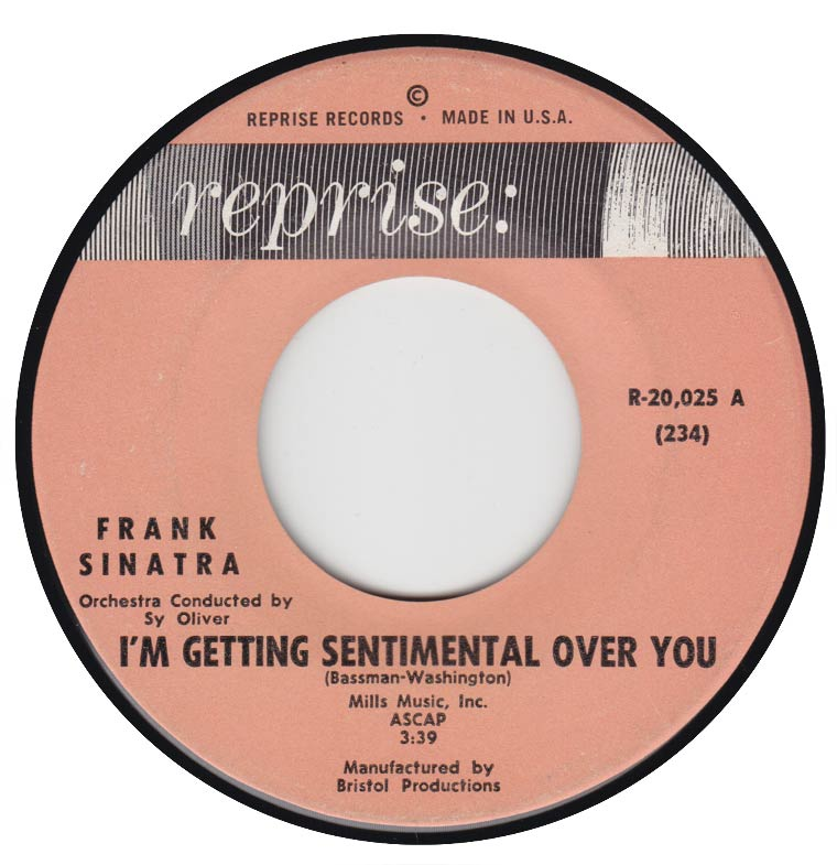 Frank Sinatra - I'm Getting Sentimental Over You