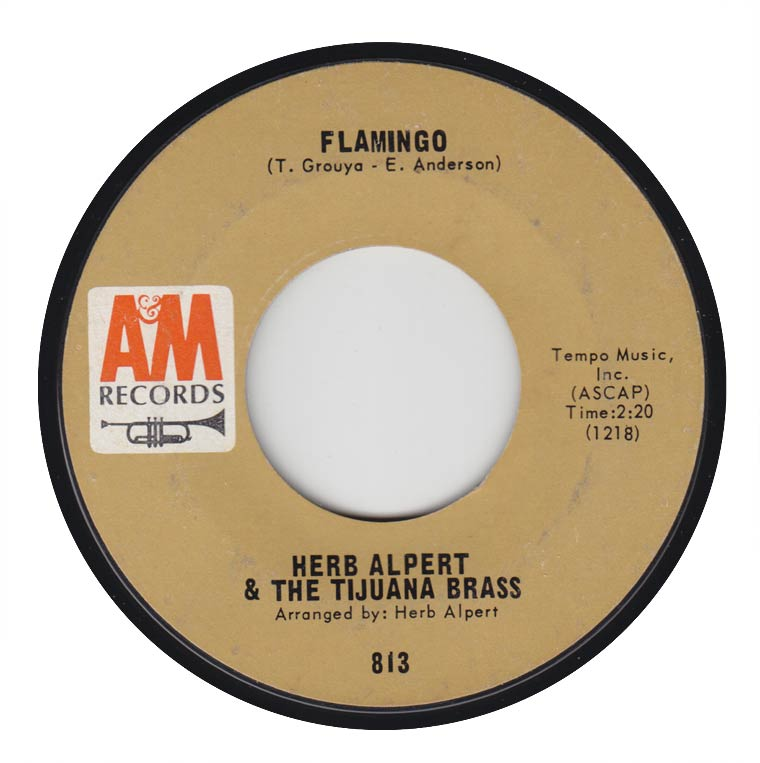 Herb Alpert & The Tijuana Brass - Flamingo / So What's New?