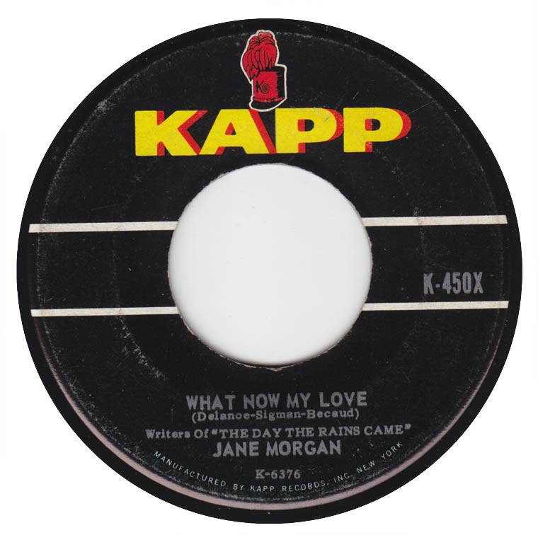 Jane Morgan - What Now My Love? / Forever My Love