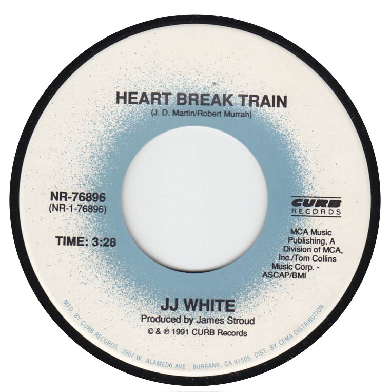 JJ White - Heart Break Train / Less Than Zero