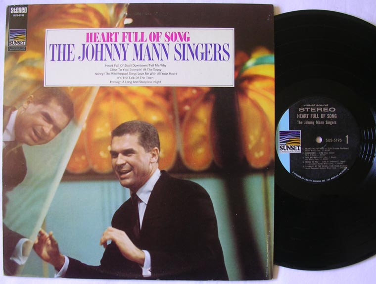 The Johnny Mann Singers - Heart Full Of Song