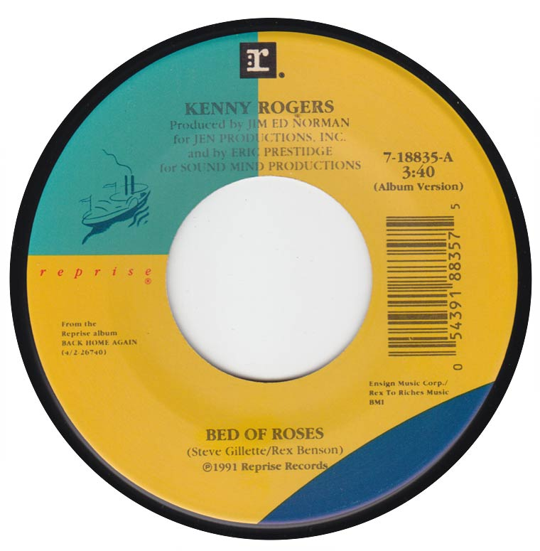 Kenny Rogers - Bed of Roses / I'll Be There for You