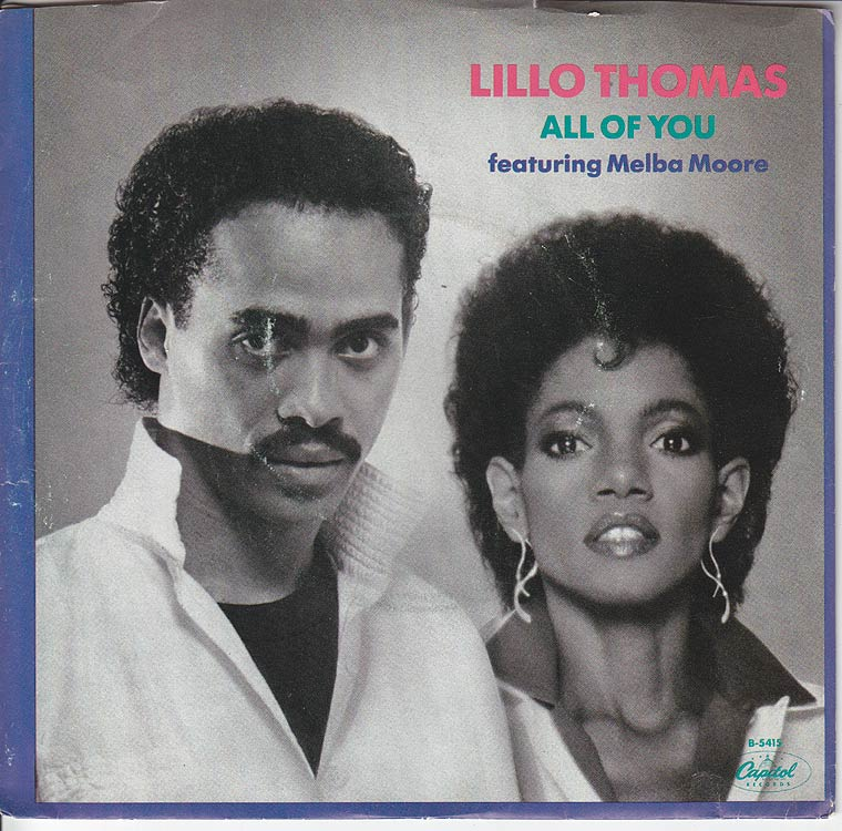 Lillo Thomas - All Of You / Let Me Be Yours