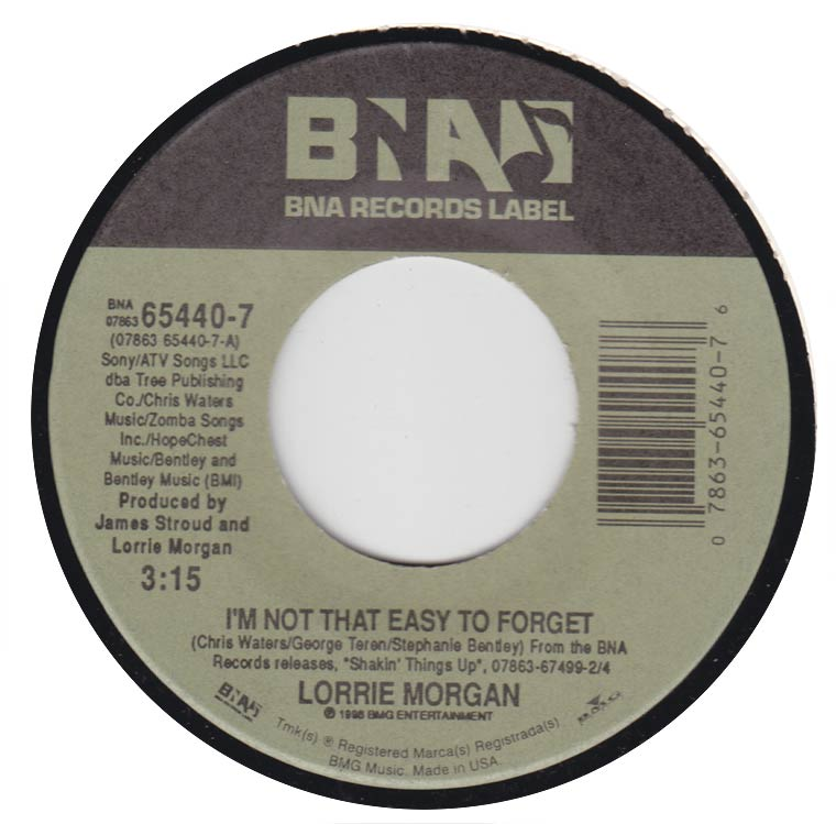 Lorrie Morgan - I'm Not That Easy to Forget / You Can't Take That