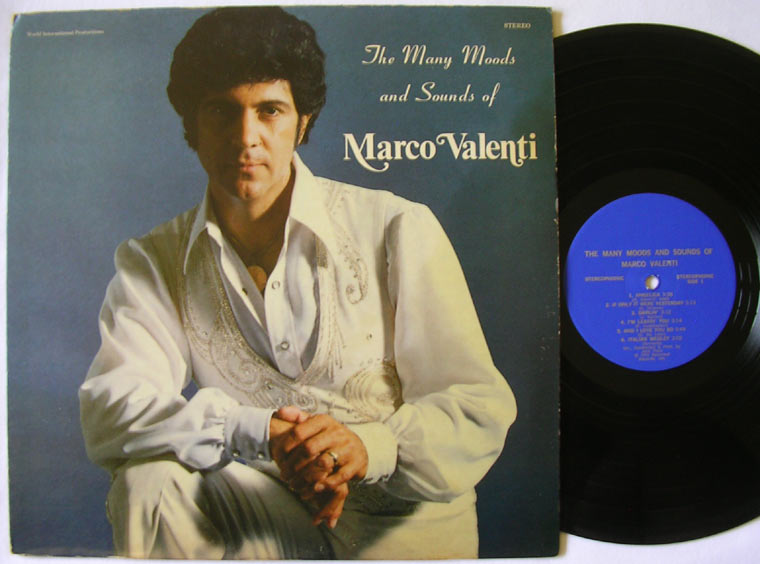 Marco Valenti - The Many Moods And Sounds Of Marco Valenti