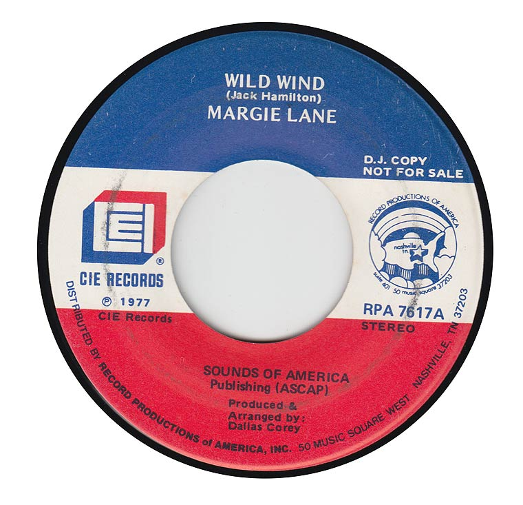 Margie Lane - Wild Wind / Happy With You