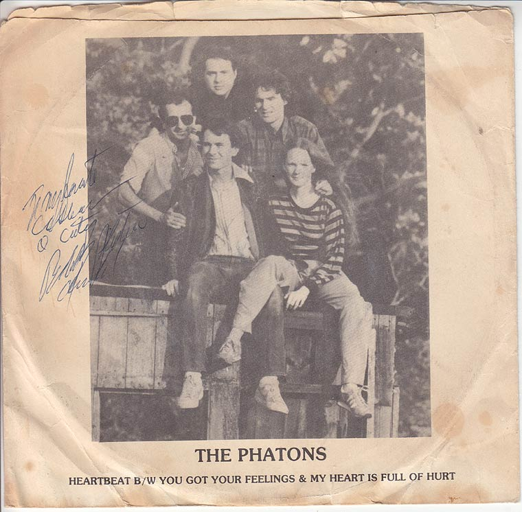The Phatons - Heartbeat / You Got Your Feelings