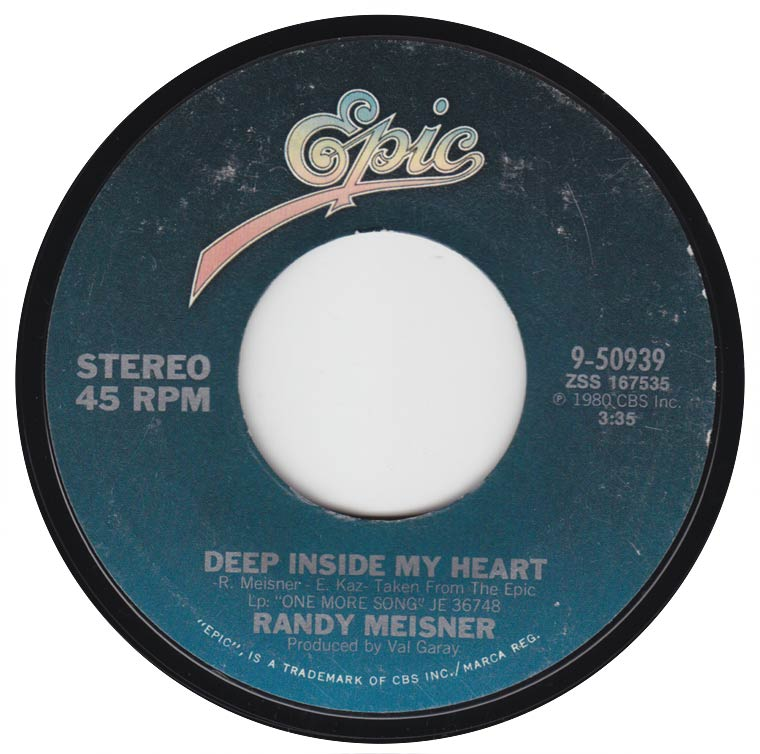 Randy Meisner - Deep Inside My Heart
