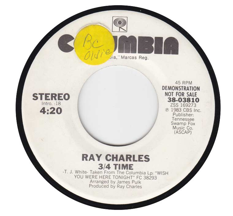 Ray Charles - 3/4 Time