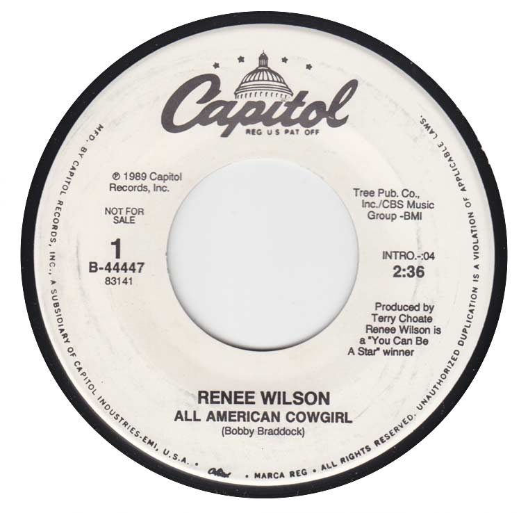 Renee Wilson - All American Cowgirl