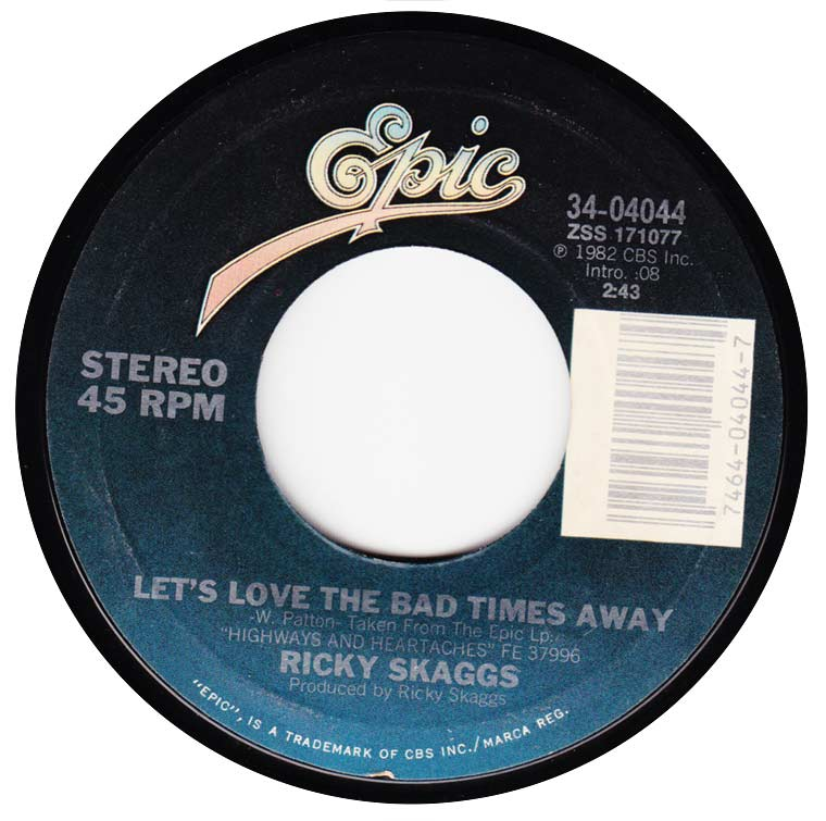 Ricky Skaggs - You've Got A Lover / Let's Love