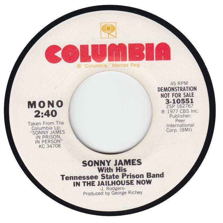 Sonny James - In The Jailhouse Now