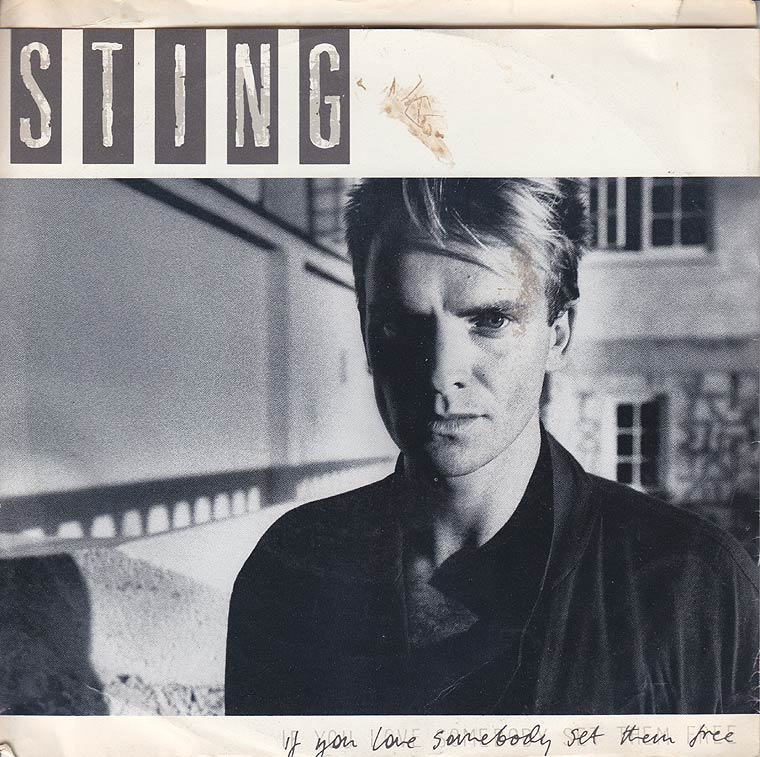 Sting - If You Love Somebody Set Them Free / Another Day