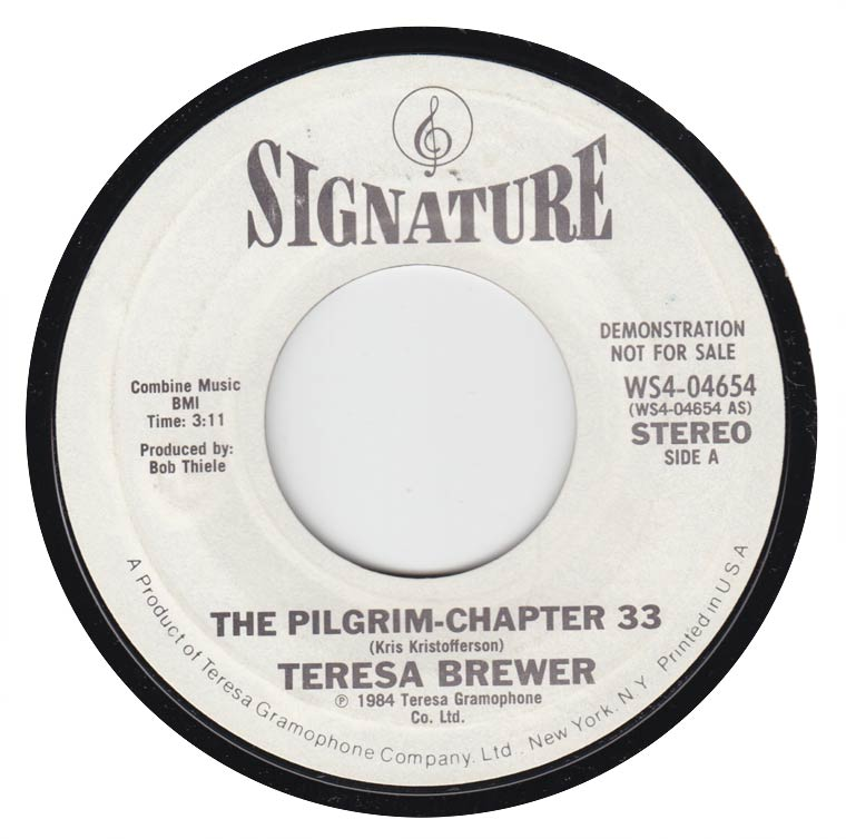 Teresa Brewer - The Pilgrim : Chapter 33 / School Days