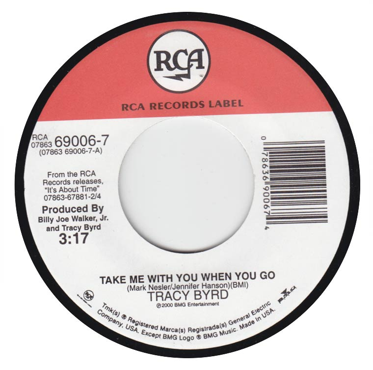 Tracy Byrd - Take Me With You When You Go