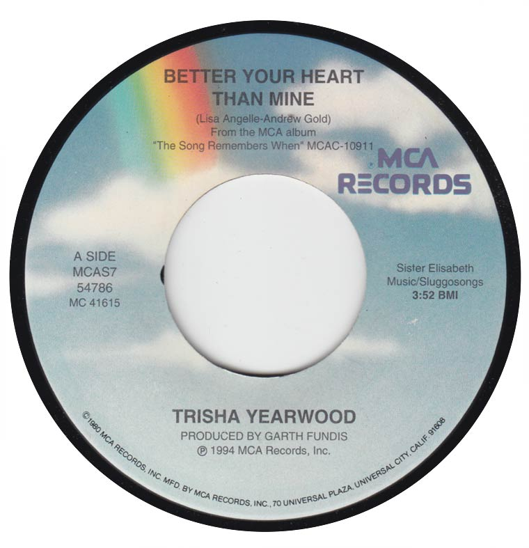 Trisha Yearwood - Better Your Heart Than Mine