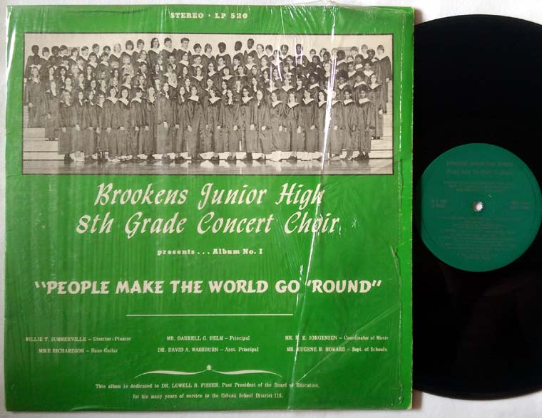 Brookens Junior High 8th Grade Choir - People Make the World