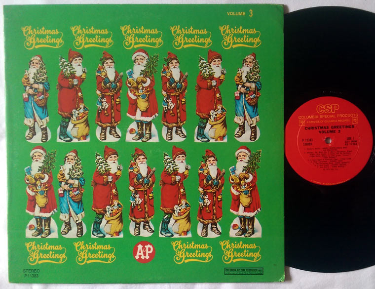 Various - Christmas Greetings Volume 3