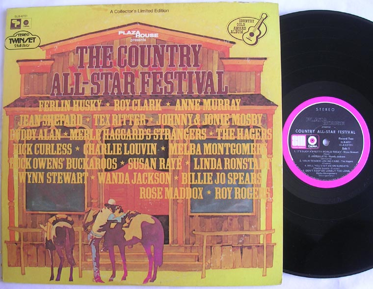 Various The Country All Star Festival By Capitol Records