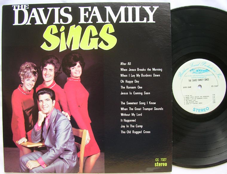 The Davis Family Quartet - The Davis Family Sings