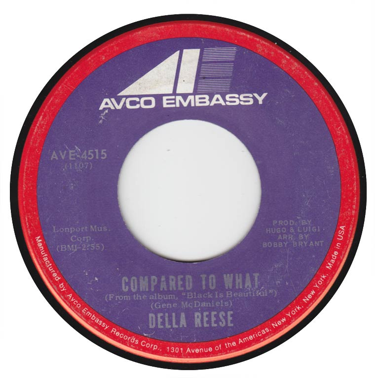 Della Reese - Compared To What / Games People Play