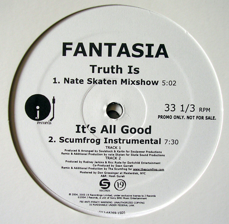 Fantasia - It's All Good / Truth Is