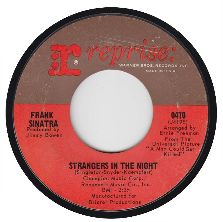 Frank Sinatra - Strangers In The Night / Oh, You Crazy Moon