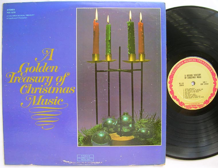 Alexander Gibson A Golden Treasury Of Christmas Music By