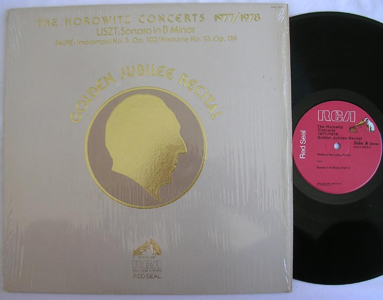 Horowitz - The Horowitz Concerts 1977/1978 - Golden Jubilee Recital