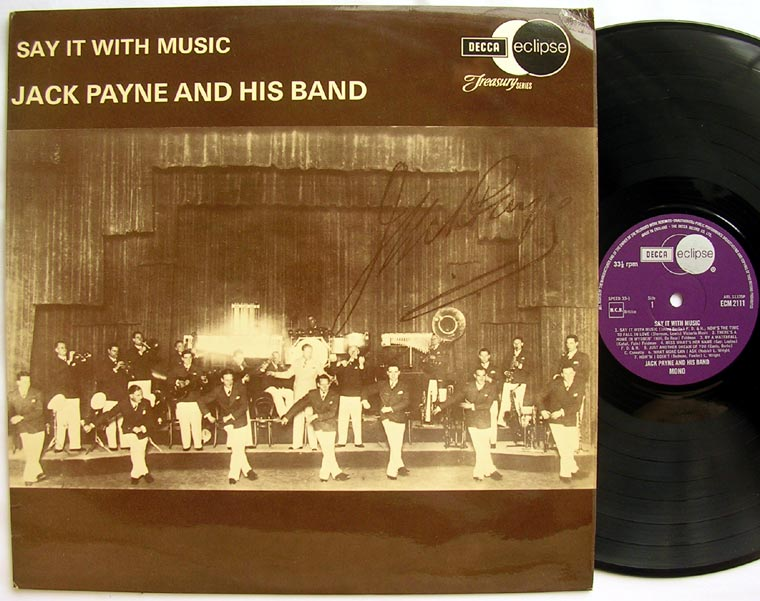 Jack Payne and His Band - Say it With Music